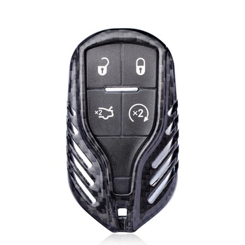 Carbon Fiber Car Key Cover Case Shell For Maserati Quattroporte Ghibli 2013 2014 2015 2016 2017 2018 Levante 2017 2018
