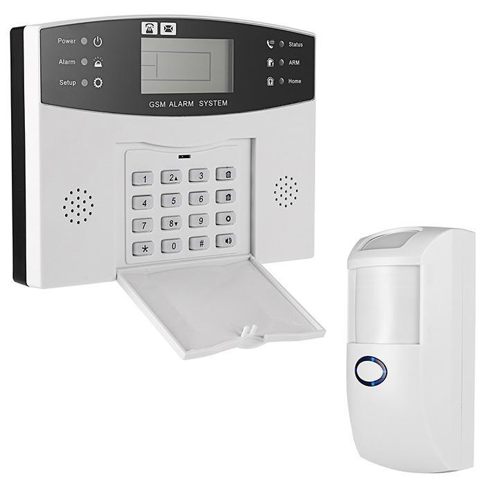 Security Portable Motion Detector Infrared Anti-theft Motion Detector Home Security Alarm system field flash strobe siren wireless security alarm system for home office safe anti theft motion detector smoke detector