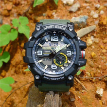 2019 New Men Climbing Sports Digital Wristwatches Big Dial Military Army Watches