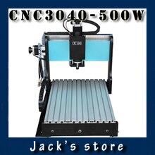 3040Z-DQ++, CNC3040 600W Ball screw wood PCB engraving machine milling carving machine CNC 3040 cnc machine cnc router