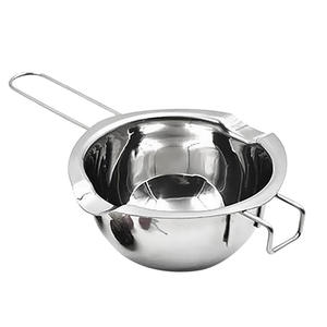 Stainless Steel Chocolate Cheese Melting Pot Pan Bowl DIY Accessories Tool J2Y
