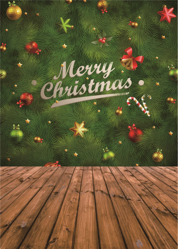 Photo Backdrops Christmas for Baby Studio Props Vinyl Wooden Floor Child Photography Background 5x7ft or 3x5ft Jiesdx065 custom photography background christmas vinyl photografia backdrops 300cm 400cm hot sell photo studio props baby l824