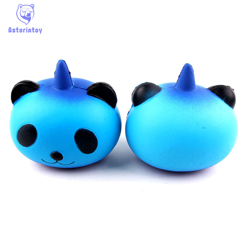 Panda Squishy slow rising toys jumbo Cream Scented Charms Kawaii Toys For Kids and Adults Stress