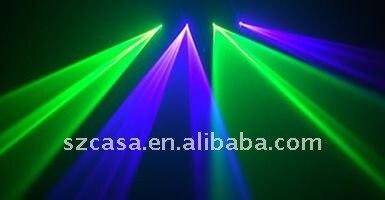260mw 4 lens GV DMX Sound sensitive controller dj laser light