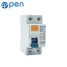 2P 40A 30mA Leakage Circuit Breaker  Residual Current RCCB leakage Short Protection