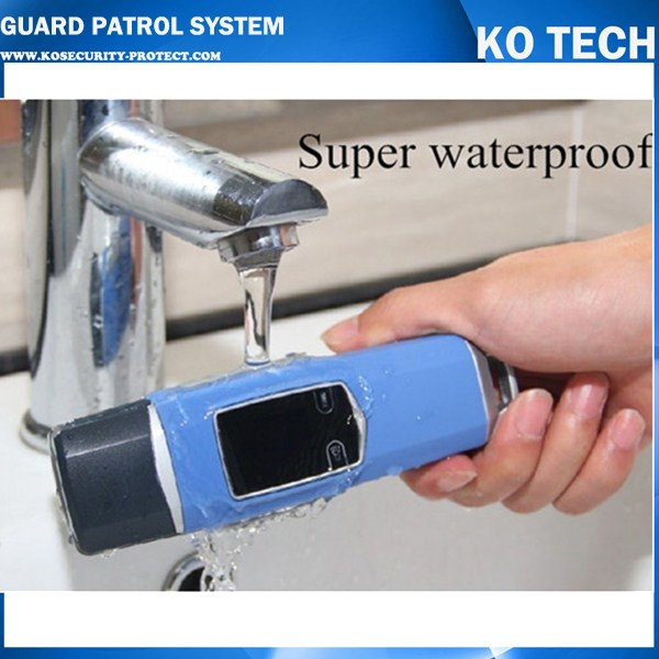 JWM RFID guard tour system,waterproof guard patrol management reader Time Recorder with software guard tour system patrol system time cotnroller v4 card reader 125khz time recorder in stock free shipping