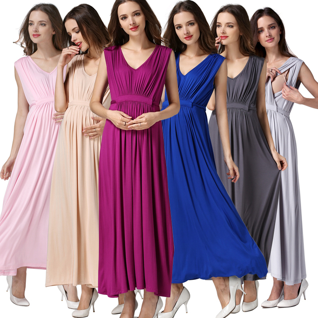 2c9c7feb493a7 Emotion Moms Party Maternity Clothes Maternity Dresses Nursing pregnant  dress pregnancy clothes for Pregnant Women Europe size