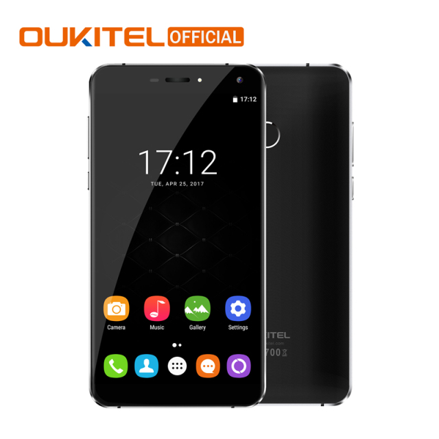 "Official Oukitel U11 Plus Android 7.0 Mobile Phone MTK6750T Octa Core 4G RAM 64G ROM Fingerprint 5.7"" 3700mAh 4G LTE Smartphone"