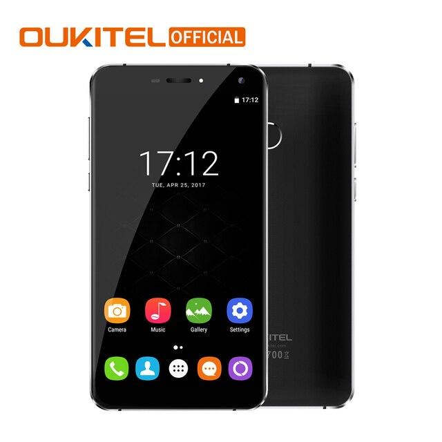 "Official Oukitel U11 Plus Android 7.0 Mobile Phone MTK6750T Octa Core 4G RAM 64G ROM Fingerprint 5.7"" 3700mAh 4G LTE Smartphone"
