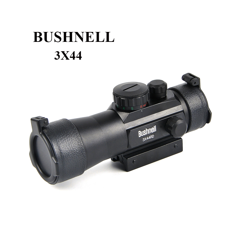 HUNTER 3X42 Red Green Dot Sight Scope Tactical 11 20mm Rail Riflescope Fit Picatinny Mount Hunting