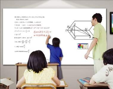 3D Laser Technology Finger Touch Interactive Whiteboard For Educational Institution