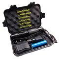 1 компл. XML-T6 3800 люмен светодиодный фонарик регулируемый аккумуляторная свет факела linterna + 18650 + ЕС/США/ВЕЛИКОБРИТАНИИ автомобильное зарядное устройство + подарочная коробка
