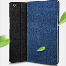 Smart Case for xiaomi mi pad 4 8.0 inch PU leather Wood pattern flip folio cover for xiaomi mipad 4 tablet funda coque mi pad4