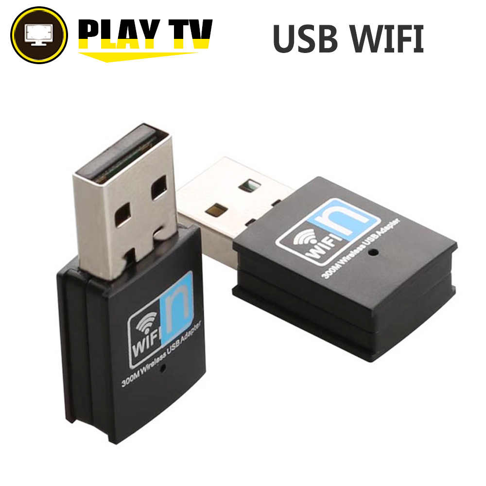 300Mbps Wifi Adapter 2 4G USB Mini Wifi Receiver Dongle 802 11b/n/g  Ethernet Network Card For Computer Desktop usb wifi