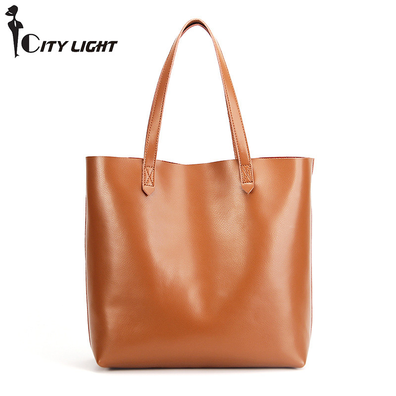 Genuine Leather Women Handbag Fashion Composite Bag Solid Cowhide Shoulder Bag Large Capacity Ladies Bag bolsos Shopping Bags simply classic fashion leather women handbag shoulder bags ladies large capacity ladies shopping bag bolsa