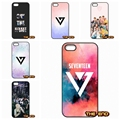 KPop Seventeen Logo wallpaper Cell Phone Case Cover Shell For Motorola Moto E G G2 G3 1 2 3rd Gen X X2 For 1+ One Plus 2 X