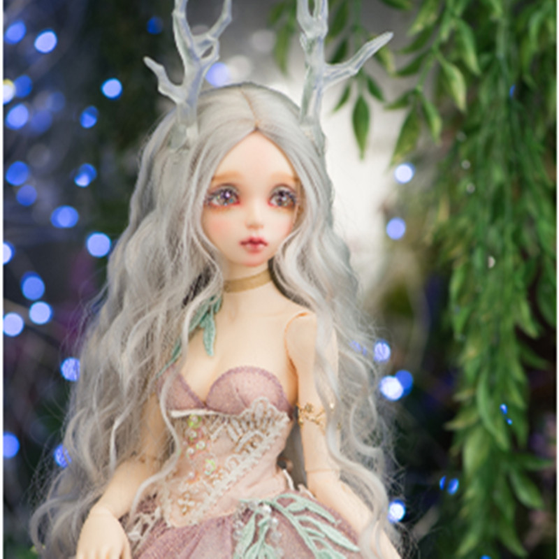 2019 New Shelves EVa 1/4 Female Bjd Sd Female Doll Give Eyeball Joint Doll Gift Give A Corner