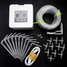 Hot Sale DIY Automatic Drip Irrigation Kit USB Battery Powered Indoor Pot Plants Self Watering System
