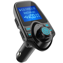 Car Mp3 Wireless FM Transmitter Bluetooth Handsfree Modulator USB Charger for iPhone Samsung Support TF Card