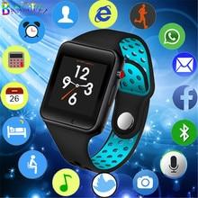 LIGE 2019 New Men Smart Watch Women Sport Pedometer LED Digital WristWatch SIM Camera Music Player Smartwatch For Android +Box