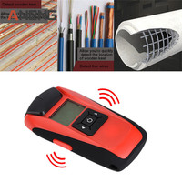Multi function Handheld LCD Wall Stud Finder Metal Wood AC Cable Live Wire Scanner Detector Tester Measuring Tool