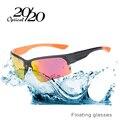 20/20 marca new hombres polarizados gafas flotantes moda mujeres shade gafas de sol oculos tpx006 flotantes en el agua