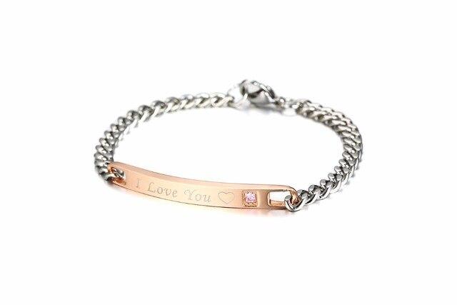 Купить модные браслеты из розового золота с фианитами для женщин ювелирные
