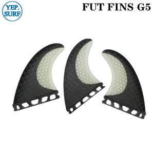 Image 5 - Future G5 Fin yellow Honeycomb Surfboard Fins Future Fibreglass Fins Surf Quilhas Paddle Board