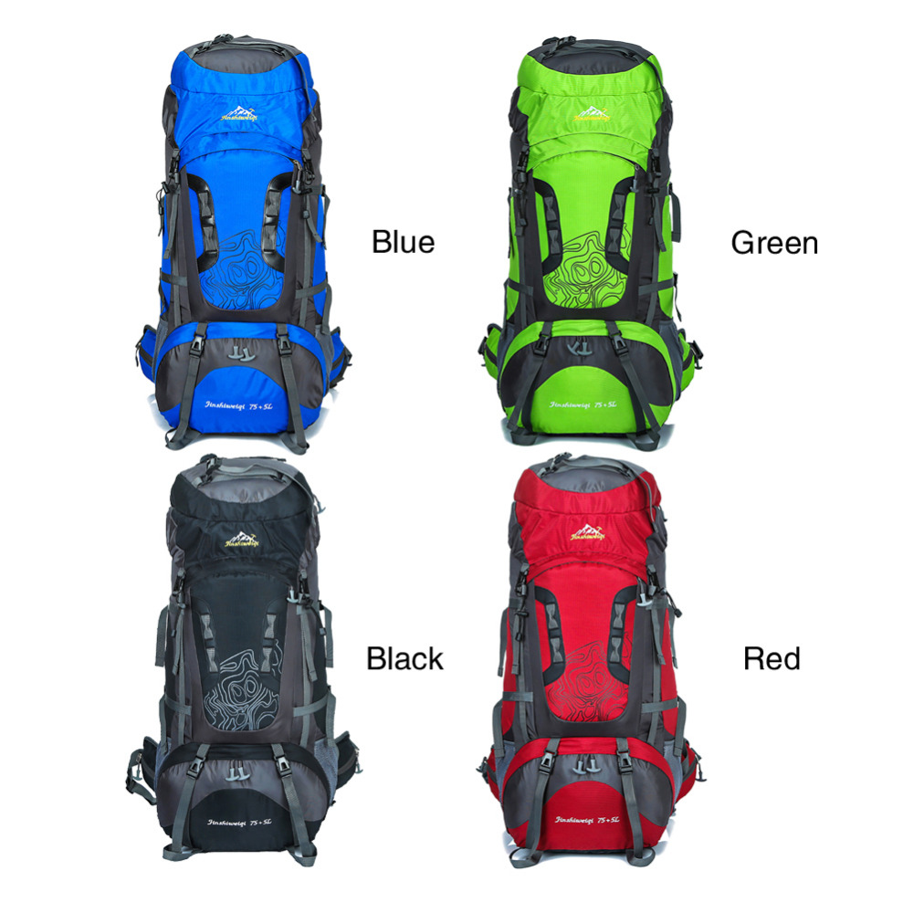2018 New Arrival Large Capacity Long Haul Backpacks Professional Climbing Bags 80L Quality Outdoor Sport Mountaineering