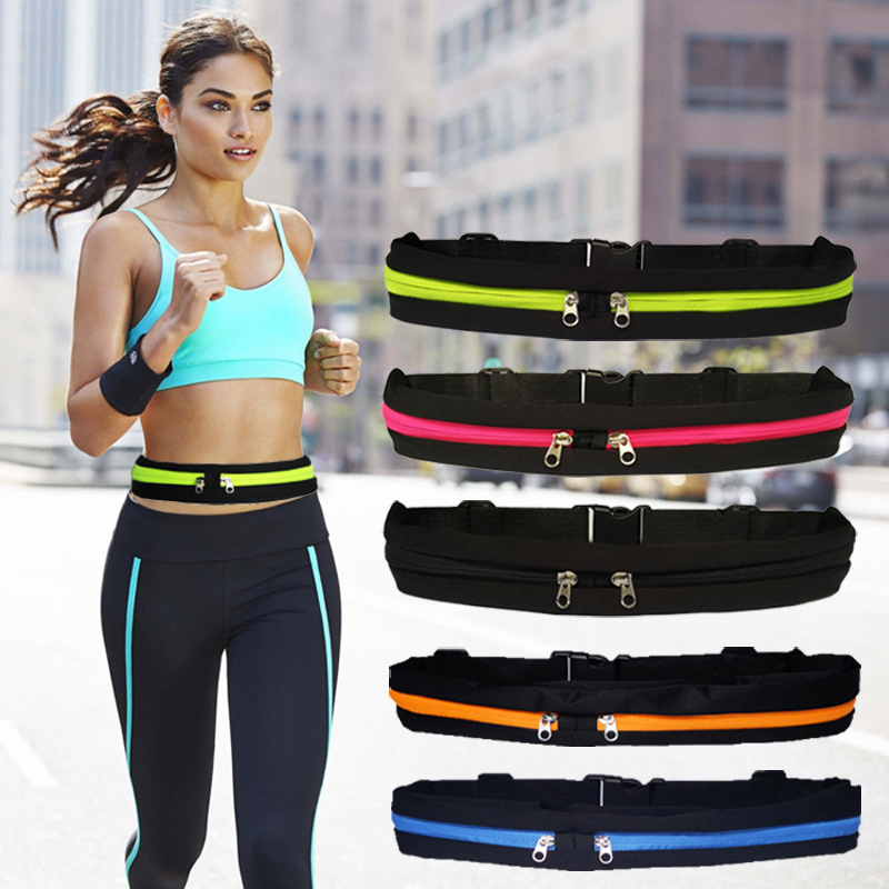 Outdoor Stretch Waist Pack Multi-function Sports Pocket Men And Women Running Fitness Anti-theft Invisible Belt Mobile Phone Bag