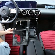 Lapetus центральная консоль киоски переключения передач декоративная рамка крышка комплект подходит для Mercedes Benz класс W177 A200 A220
