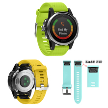 Ремешок для часов Ремешок для Garmin Fenix 5S Замена Полосы Quick Release Easy Fit спорт силиконовые браслеты