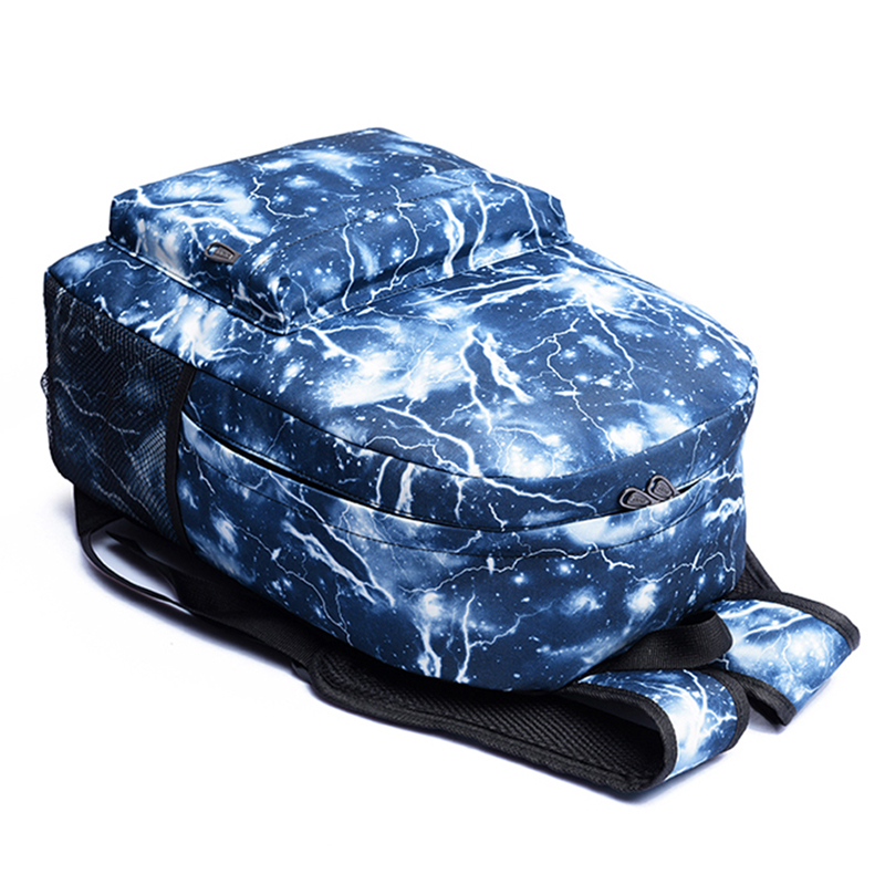 para adolescentes meninos mochila bolsa Exterior : Saco Contínuo