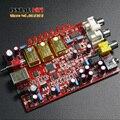 Versión de actualización $ NUMBER PPM TCXO + PCM5102 de 3X + XMOS 32bit 384 K Salida de auriculares Tarjeta de Sonido USB DAC Coaxial, envío gratis