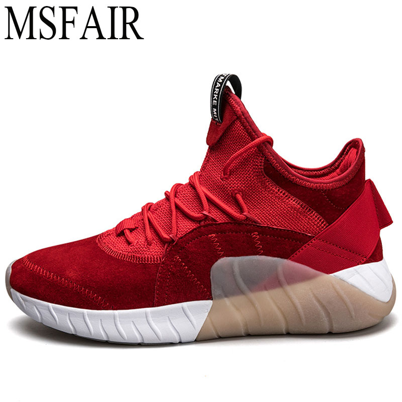 MSFAIR 2019 New Super Light Men Running Shoes Brand Outdoor Athletic Sports Run Breathable Mens Sneakers Sport Shoes For Men ...