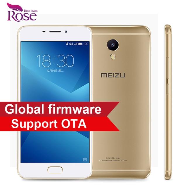 "Original Meizu M5 Note Helio P10 Octa Core Mobile Phone 3GB RAM 32GB ROM 5.5"" 1920x1080 13.0MP 4000mAh Fingerprint ID"