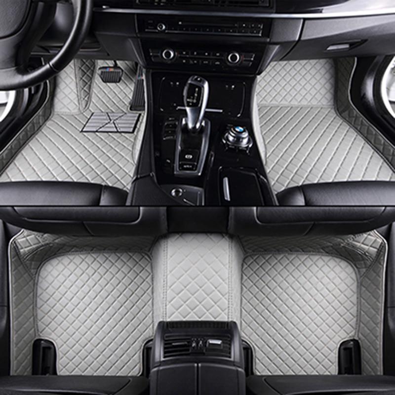 Custom car floor mats for Nissan All Models Qashqai Note Murano March Teana Tiida Almera X trai