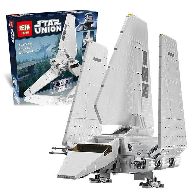 LEPIN brand 2503 pcs Star War Series The Imperial Shuttle Building Blocks Bricks Assembled kids Toys  on AliExpress