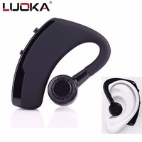 Handsfree Business Bluetooth Headphone With Mic Voice Control Wireless Bluetooth 4 1 Headset For Drive Connect