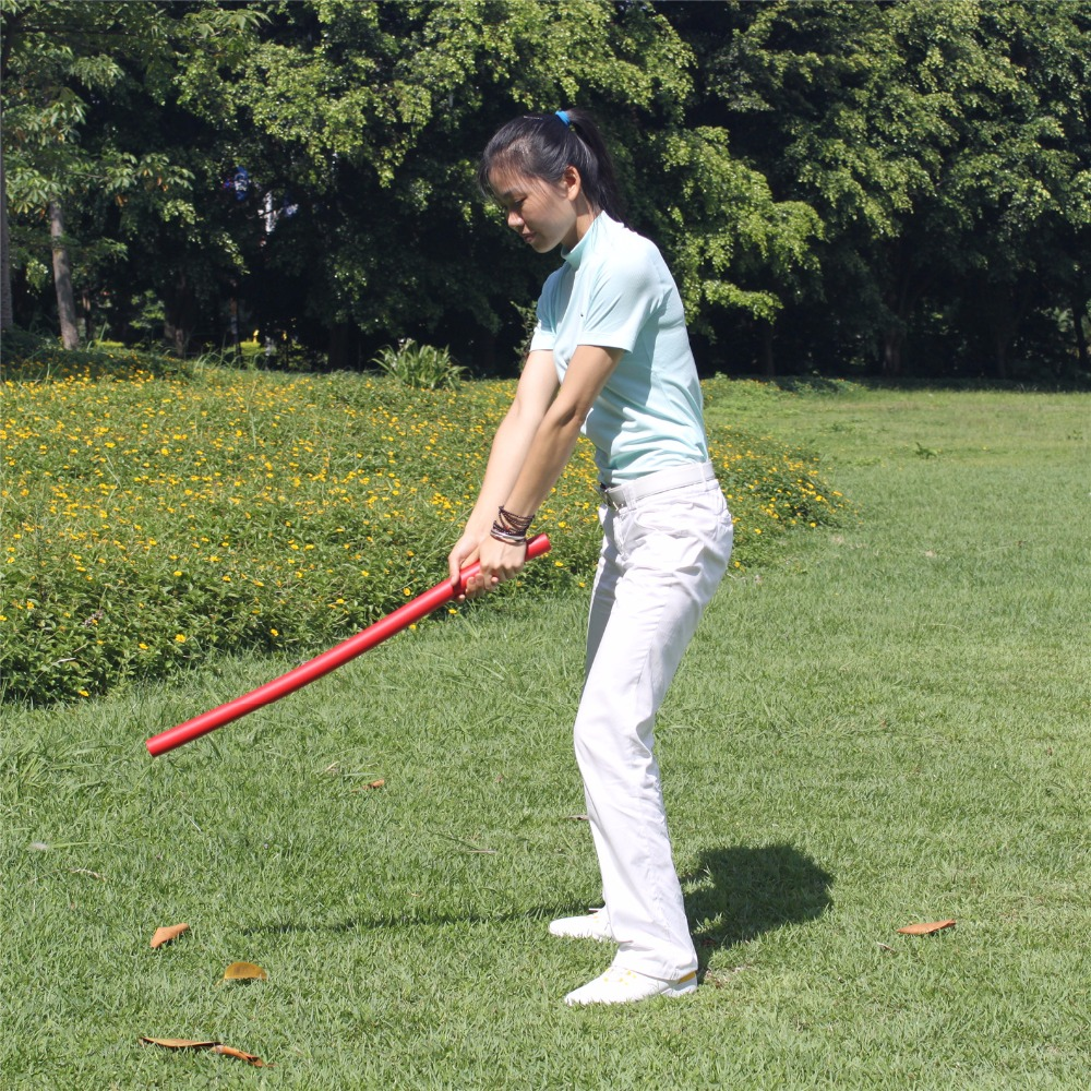 Golf Swing Rhythm Practice Stick Swing Skill Training Fitness Baseball Tennis Practice