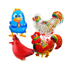 animal balloons birthday chicken duck balloon party decoration supplies inflatable shaped rooster hen