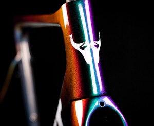 Image 4 - 2019 כביש אופני מסגרת פחם כביש אופניים מסגרת Di2 מכאני UD שחור פחמן מסגרת גודל 465 485 500 520 540mm 2 שנה אחריות