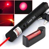 JSHFEI Láser Rojo Portable 303 Lápiz Puntero Láser Pluma Lazer Haz Potente quema LAZER Foco de luz pluma 5000 metros POR MAYOR