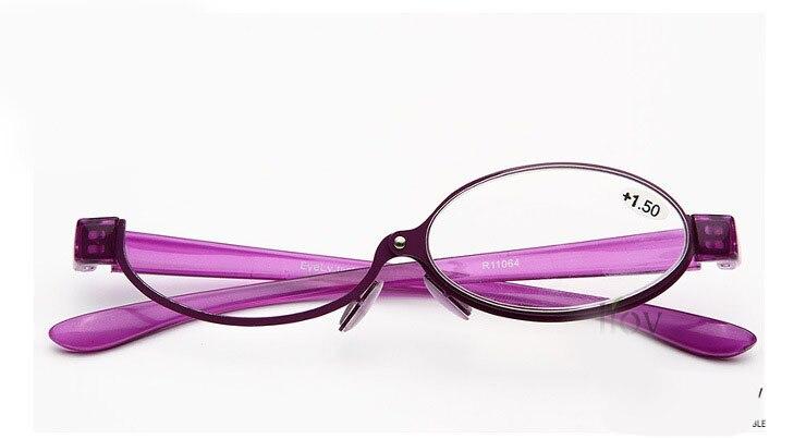 Новый дизайн, мейк ап, очки для чтения, складные, тонкие, модные очки, очки для зрения, мейк ап, настраиваются слева и справа