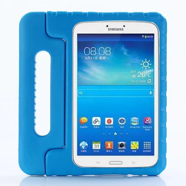 Case For Samsung Galaxy Tab A 8.0 (2017) T380 T385 DIVISI Kids Children Safe Rugged Proof Thick EVA Foam Kids Handle Stand