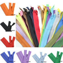 10pcs 3# 40cm(16Inch) Length Closed Nylon Coil Zippers Tailor Trousers slide fastener Garment Sewing Handcraft DIY Accessories