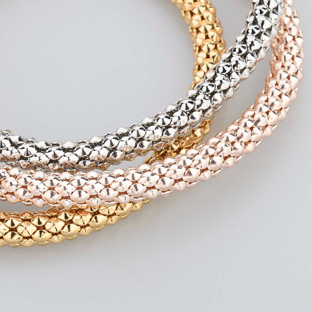 Rrathë LongWay 2019 New Fashion, Bangles Jewell Jewel Gold Color - Bizhuteri të modës - Foto 6