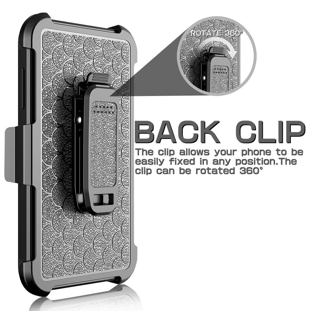Armor Case Kickstand Belt Clip Holster Cover För Samsung Galaxy J1 - Reservdelar och tillbehör för mobiltelefoner - Foto 4