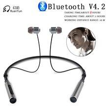 HuanYun Bluetooth font b Earphone b font Wireless Neckband Sport Stereo Bass Running Portable Magnetic Bluetooth
