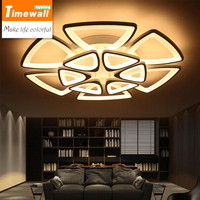Led Ceiling Living Room Lights Round Bedroom Modern Minimalist Acrylic Personalized Style Restaurant Lighting Lamp